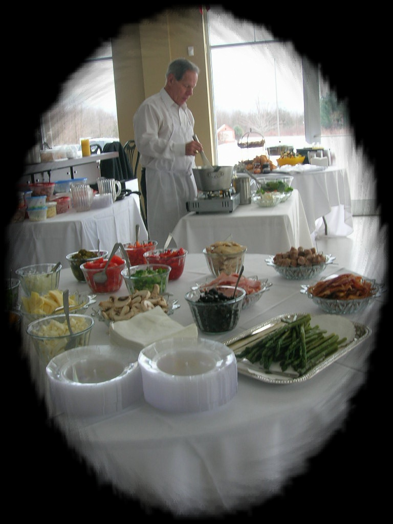 Top Shelf Catering - Albany NY - Omelet Station Catering